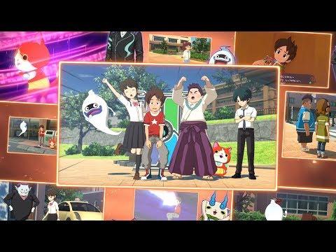 Новый трейлер и официальное японское название Yo-Kai Watch 4 для Switch