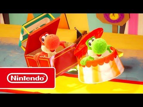 Трейлер «Подружись с Йоши!» к платформеру Yoshi's Crafted World для Switch