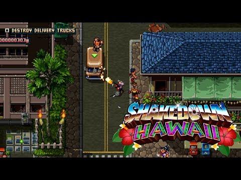 Разработка ретро-боевика Shakedown: Hawaii вошла в стадию финального бета-тестирования