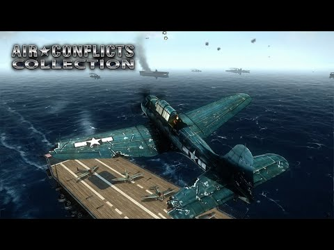 Сборник аркадных авиасимуляторов Air Conflicts Collection вышел на Nintendo Switch