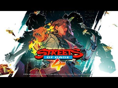 Представлен новый трейлер Streets of Rage 4!