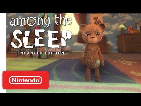 Геймплей улучшенного издания хоррора Among the Sleep для PS4, One и Switch