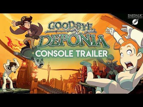 Конец близок: Deponia Doomsday стала доступна на PlayStation 4 и Xbox One