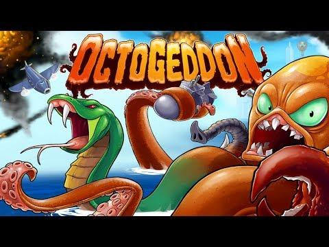Месть осьминога будет страшна: аркадный экшен Octogeddon выйдет 16 мая на Switch