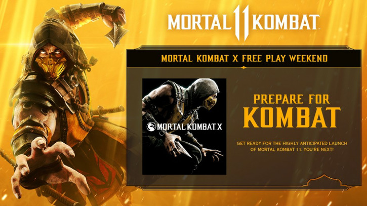Xbox Free Play Days: Mortal Kombat X