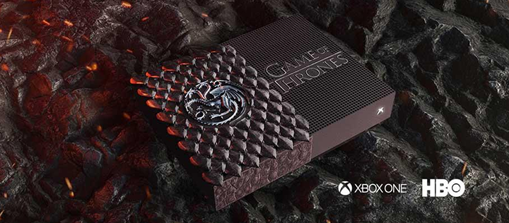 Microsoft разыгрывают 3 Xbox One S All-Digital Edition, стилизованных под Game of Thrones